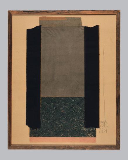 collage papier sur bois maroesse jodd von schaffstein. Black Bedroom Furniture Sets. Home Design Ideas
