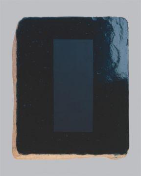 Extrait de série : Encaustique sur pierre à lithographie 27 x 32 x 6 cm, 1990