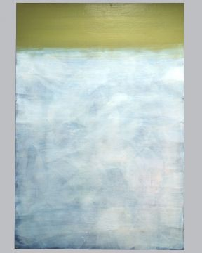 Extrait de série : Encaustique sur toile marouflée sur bois 110/160 cm, 1996