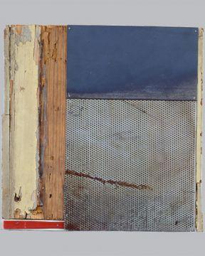 Extrait de série : Assemblage bois, métal et divers 34/36/2 cm 1993