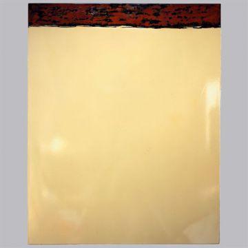 triptyque émail sur metal 192x105x5 cm RAL 1013/1014/1015