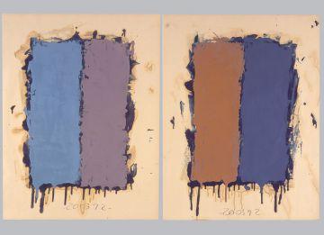 Extrait de série : Encres et pigments sur papier 101x65 cm 20/03/92